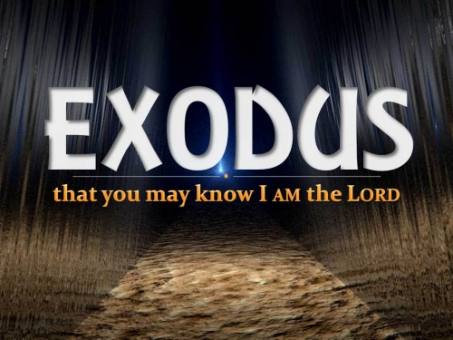 Exodus - that you may know I AM the LORD